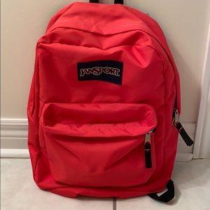 NEW Jansport coral pink backpack